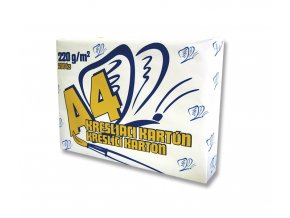 Kreslící karton - A4, 220g