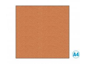 Pěnová guma - MOOSGUMMI, A4, oranžová