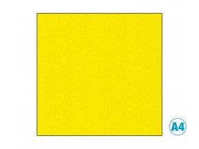 Pěnová guma - MOOSGUMMI, A4, žlutá