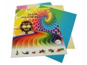 Papír - A4, barevný, sada 8 listů - šílený, 3. edice