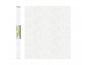Papír - krepový, bílý