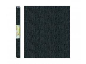 Papír - krepový, černý