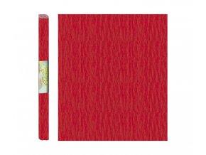 Papír - krepový, červený