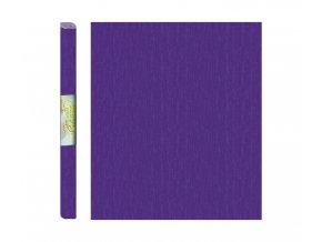 Papír - krepový, fialový