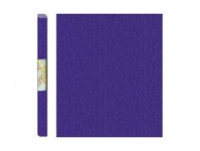 Papír - krepový, fialový tmavě