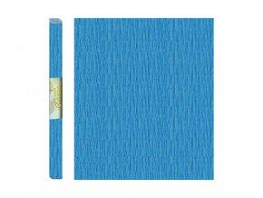 Papír - krepový, modrý