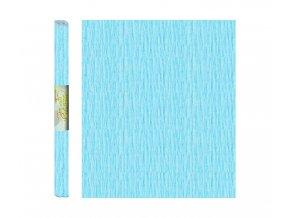 Papír - krepový, modrý světle