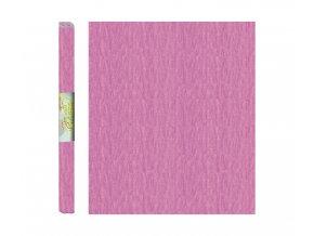 Papír - krepový, růžový světle