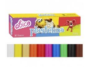 Plastelína ABICO - 10 barev