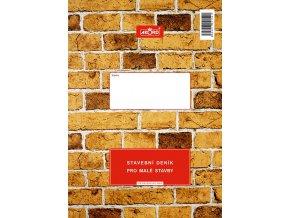 154 - Stavební deník - malé stavby