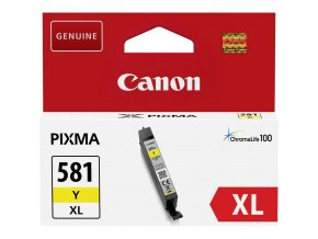 cartridge canon cli 581xl y cli 581xly 2051c001 originalni zluta