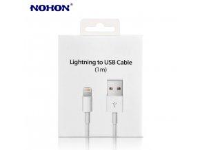 NOHON DATOVÝ KABEL USB S KONEKTOREM LIGHTNING 1M