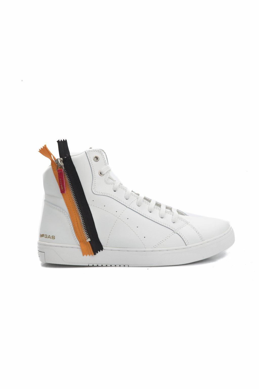 Značkové pánské sneakers Gas Jeans (Barva Bílá, Velikosti 44)