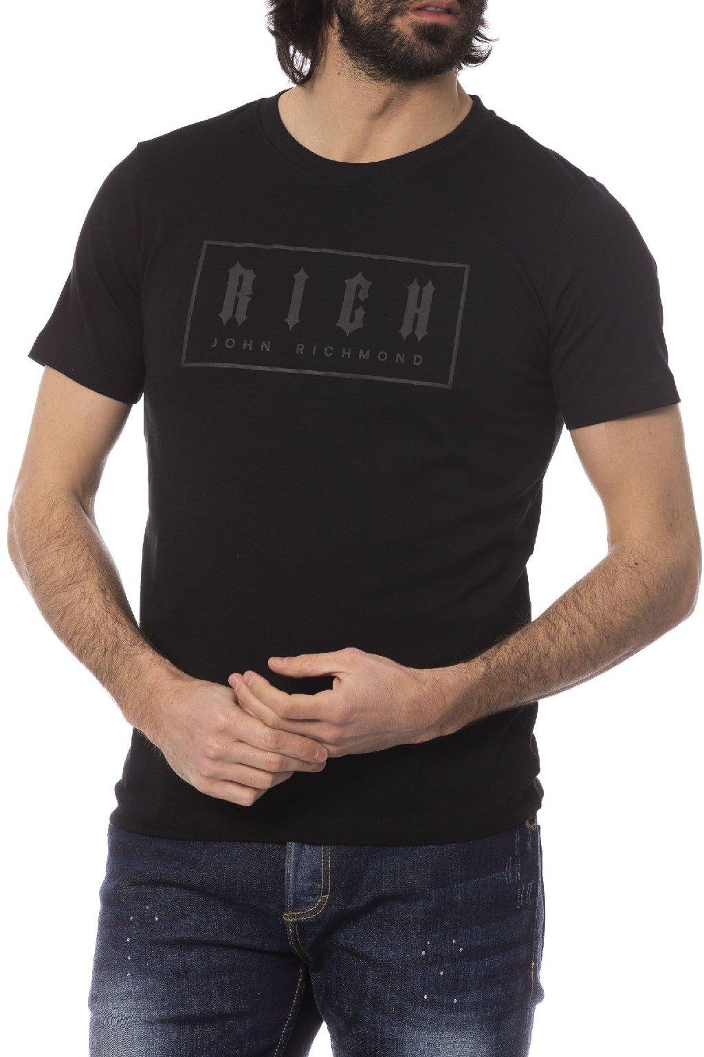 Luxusni tricko John Richmond cerne (3)