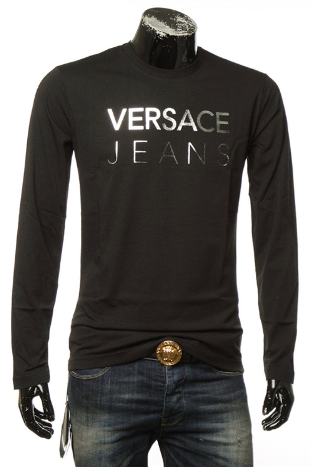versace jeans panske tricko s dlouhym rukavem (2)