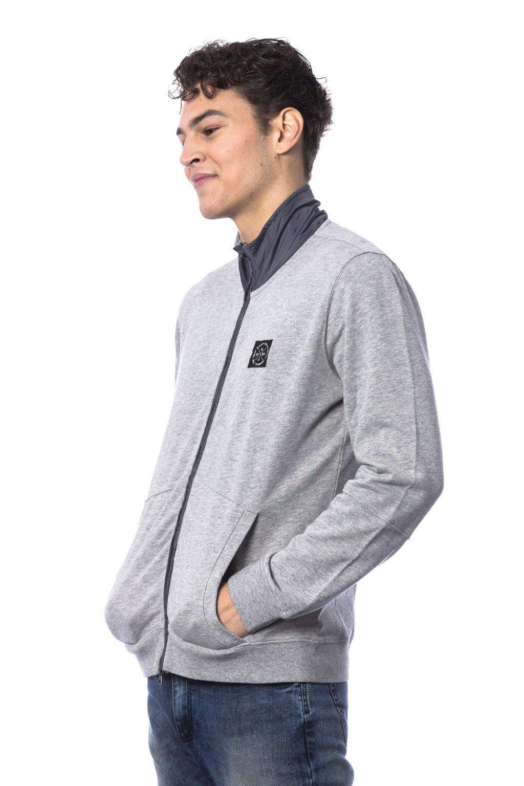 znackova panska mikina Gaudi Jeans grey (4)