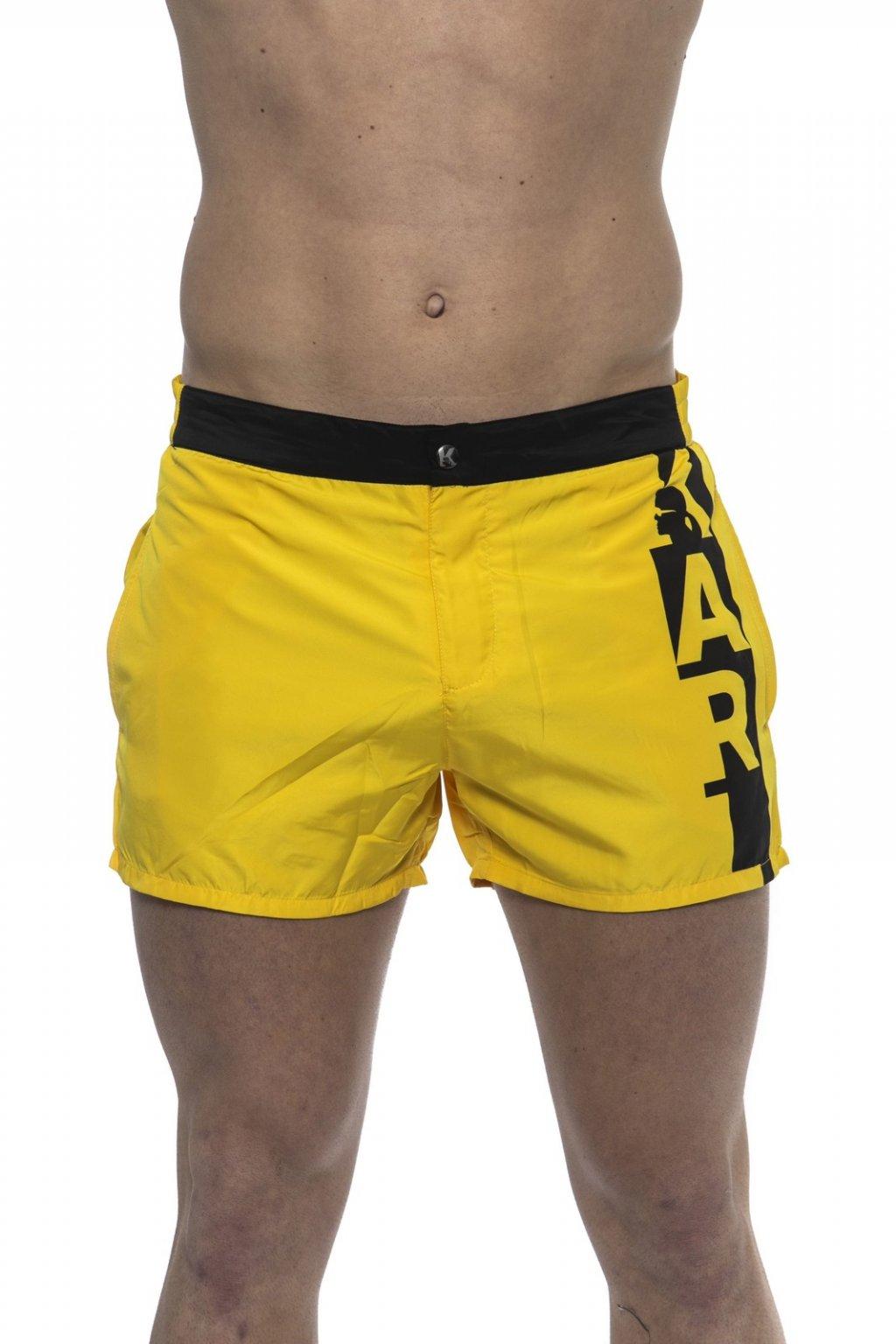 Luxusni plavky Karl Lagerfeld Zluta barva (1)