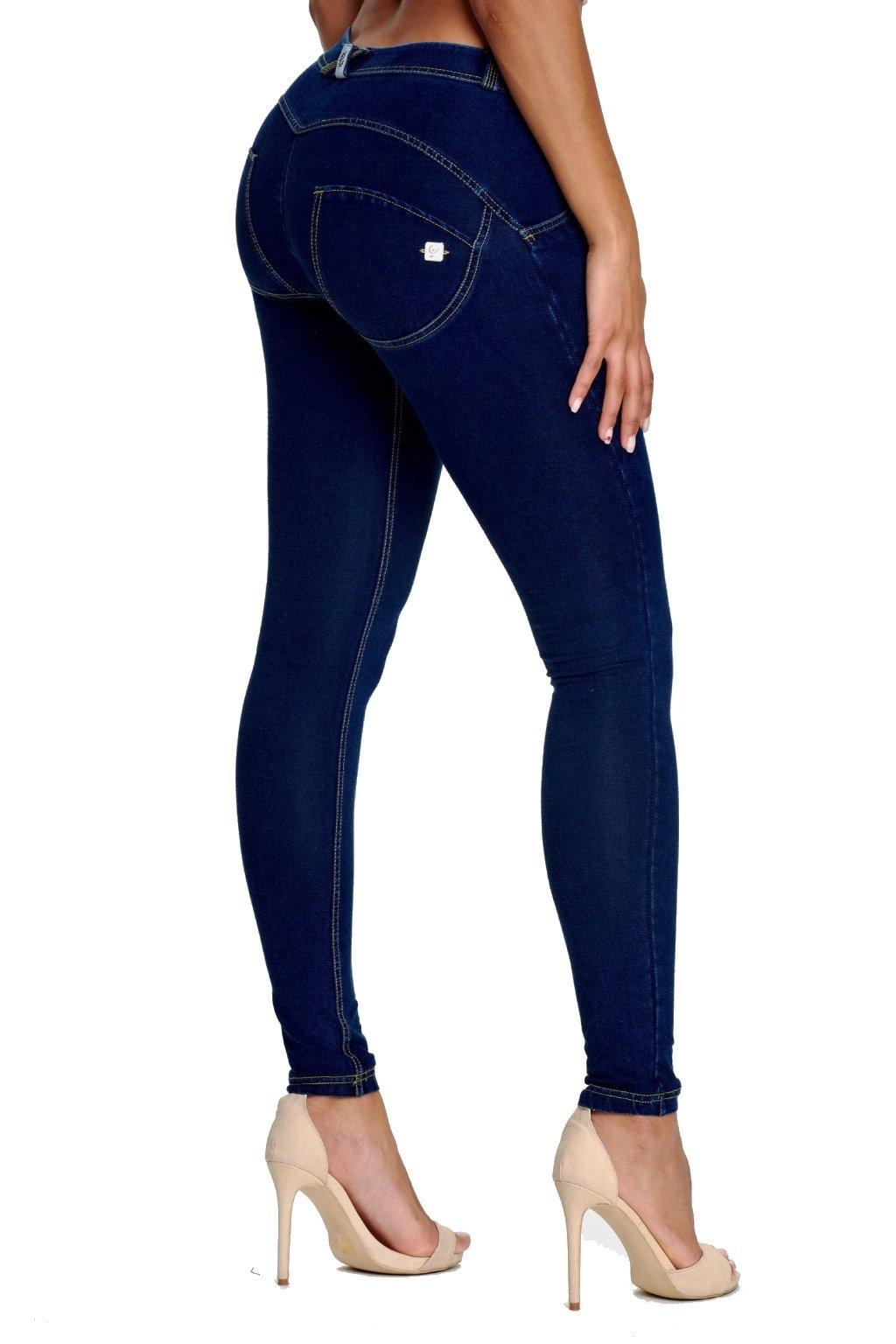 Freddy riflove kalhoty normalni pas tmave modre (3)