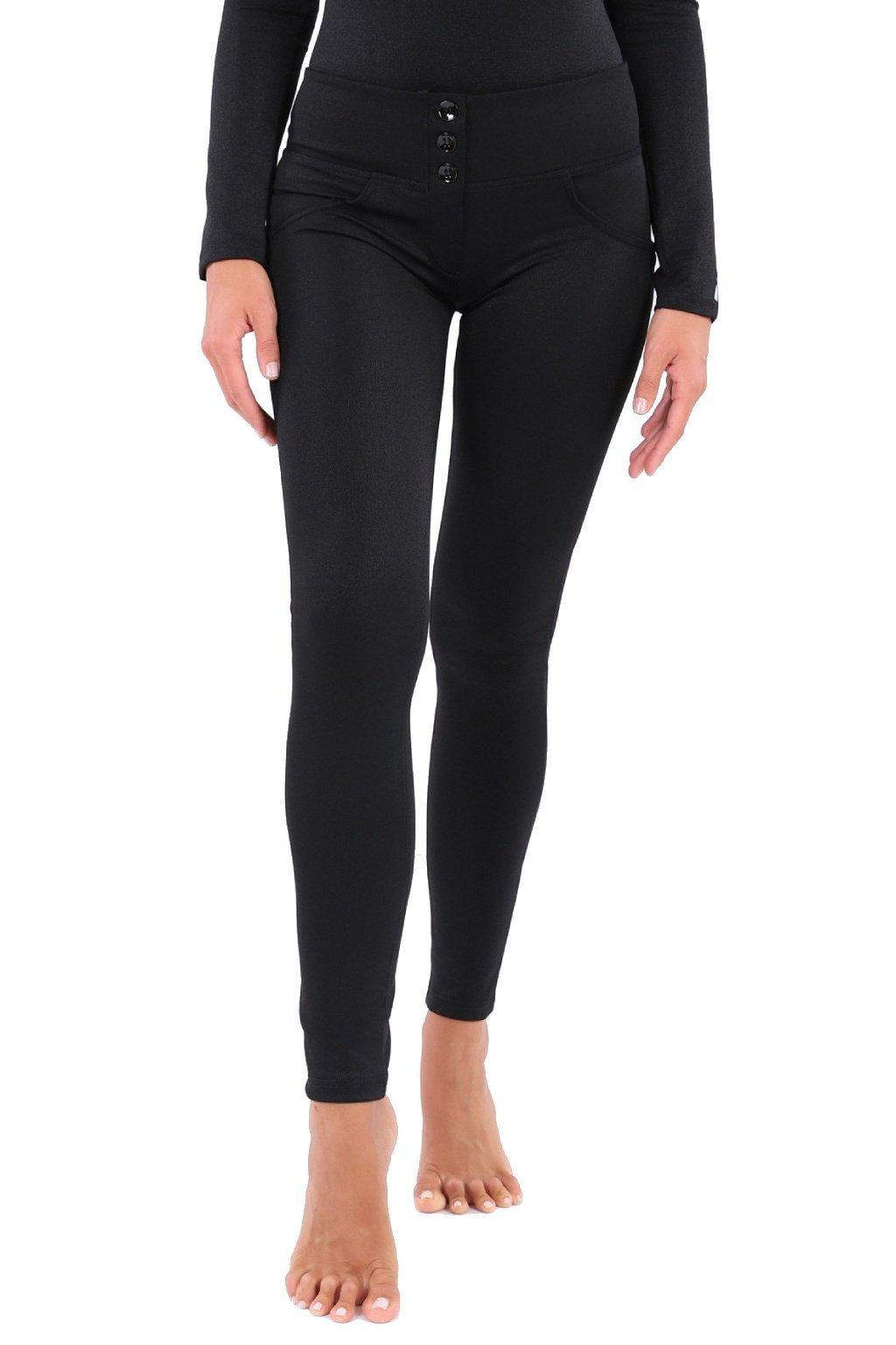 Cerne freddy kalhoty wr.up lurex vysoky pas leginy knofliky skinny superskinny originalni freddy jeans italie sleva slevovy kupon freddy darek (2)