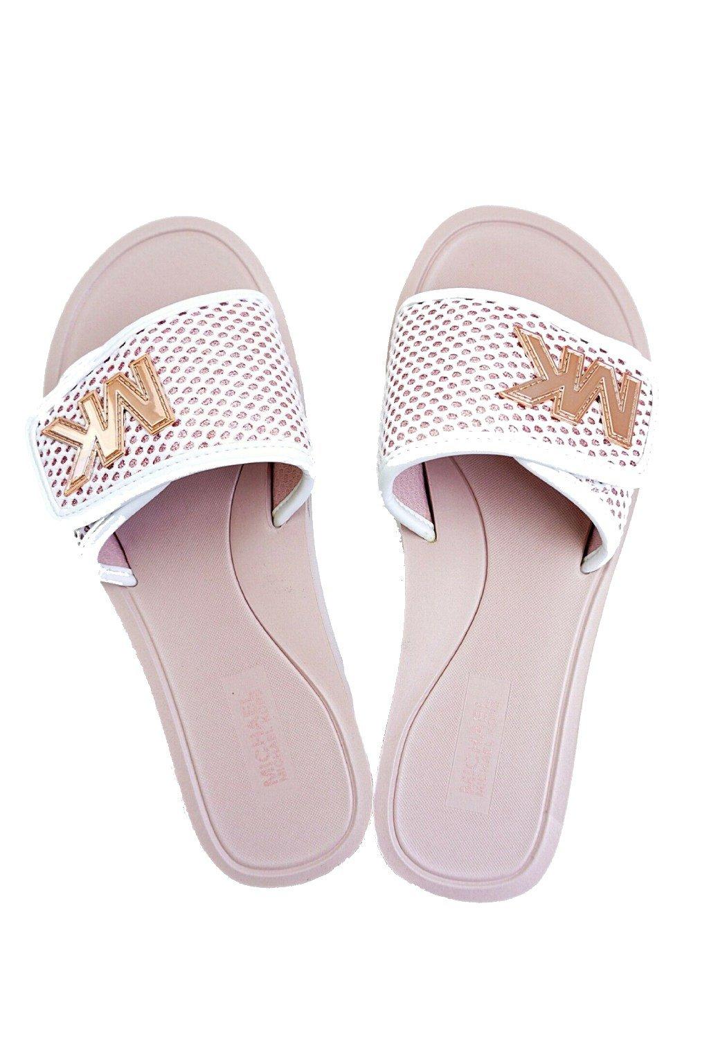 Damske ruzove pantofle Michael Kors zabky MK Calvin Klein pantofle Hermes Pantofle MK nazouvaky zeny znackove nazouvaky pantofle CK Replay zabky PAntofle zeny Michael KOrs pantofle originalni zlate nazouvaky (2)