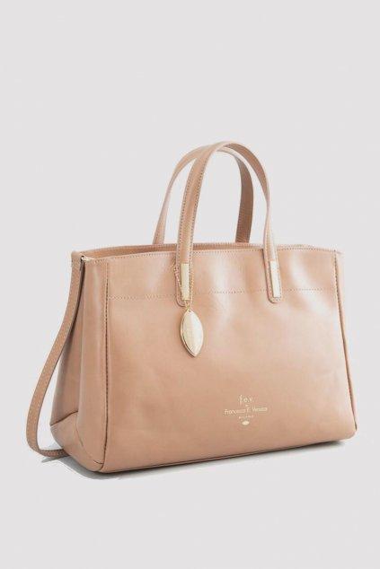 Znackova bezova hneda kabelka Versace (3)