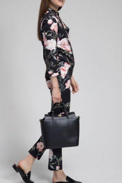 Luxusni cerna kabelka Trussardi