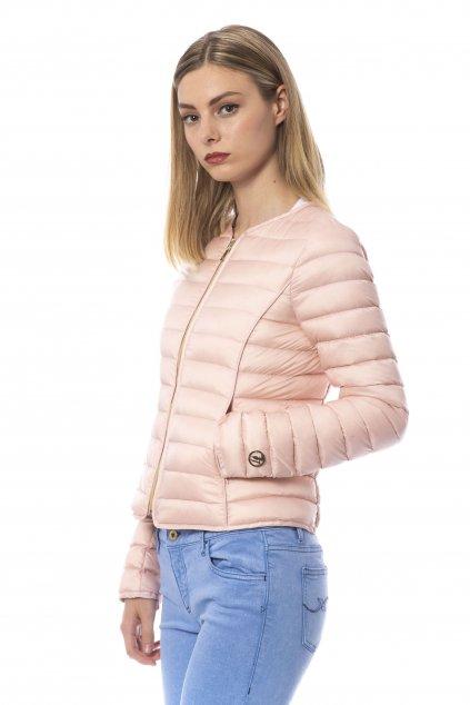 Znackova damska ruzova bunda Trussardi (1)