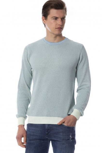 Znackova bavlneny svetr Trussardi (2)