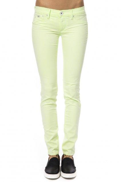 znackove damske kalhoty gas jeans zelene (2)