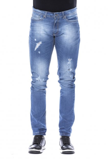 znackove panske rifle Gaudi Jeans denim chiaro (3)
