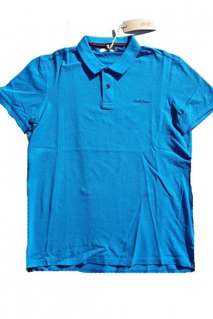 znackove panske polo tricko Gaudi Svetle modre (2)