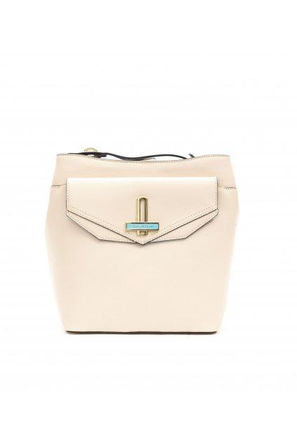 znackova kabelka do ruky Trussardi Jeans Beige (2)