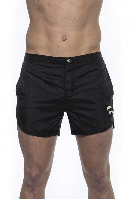 Karl Lagerfeld panske plavky cerne logo (3)
