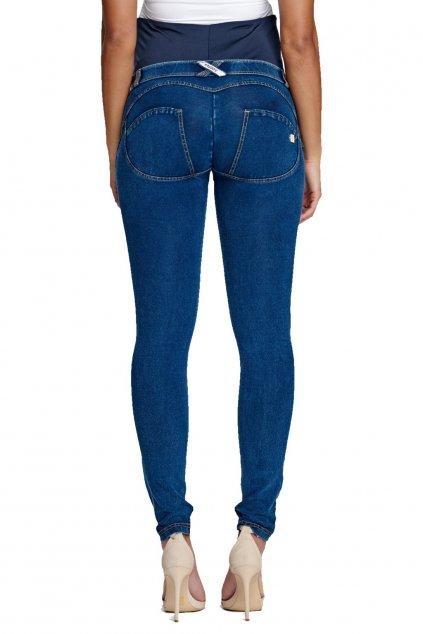 Tehotenske dziny rifle Freddy materske kalhoty rifle skinny jeans denim (5)