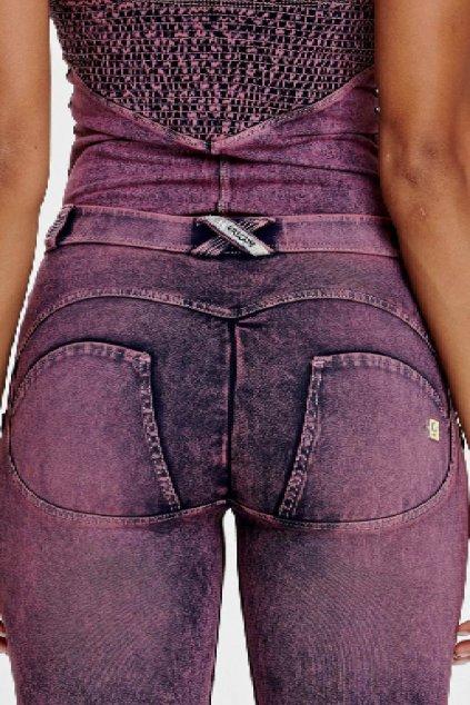 Freddy skinny dziny rifle 78 nad kotniky superskinny elasticke push up kalhoty freddy jeans oprane vyprane efekt oprani normalni pas stredni pas (2)