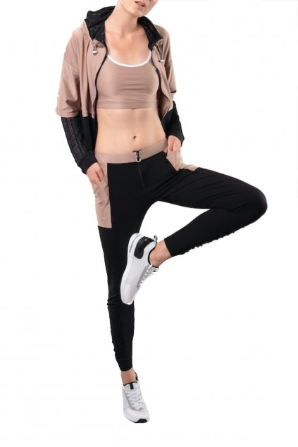 Freddy leginy skinny fit made in italy extra pohodlne originalni sportovni joga yoga leginy leggings cerna zlata diwo diwo pro b4 normlani pas fitness leginy (3)