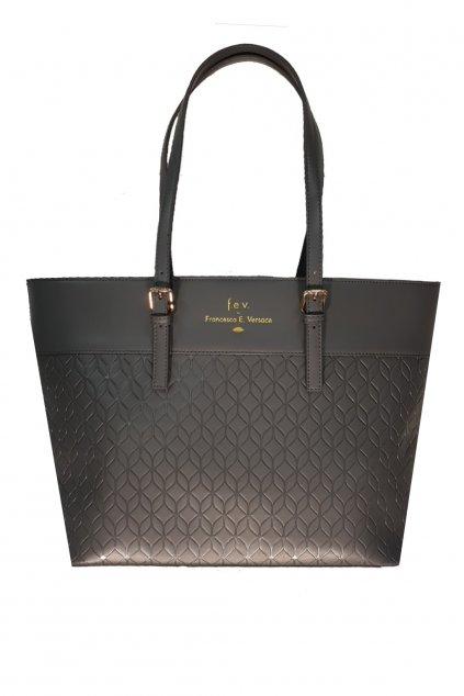 Znackove kabelky Versace FEV tote made in italy velka kozena kabelky Francesca Versace Luxusni kabelky parizska dust bag kabelky do ruky italie kozene kabelky Versace Kors Gucci Fendi Guess bag (2)
