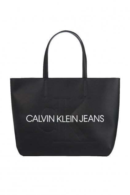 Shopper kabelka Calvin Klein Tote kabelka velka cerna kabelka CK calvin klein jeans prodej kabelka CK cerna velka stylova kabelka kabelky znackove calvin klein kabelky italska moda facebook calvin klein erikafashion ( (10)