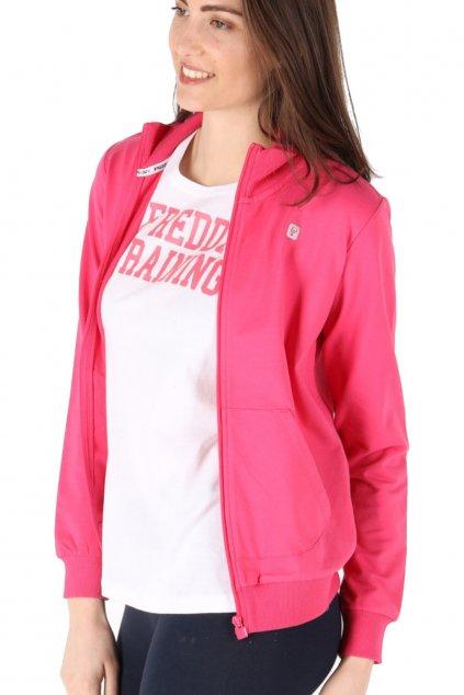 Lehká dámská mikina Freddy® - Růžová