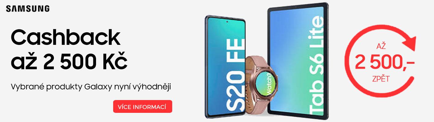 Samsung Cashback až 2500,-