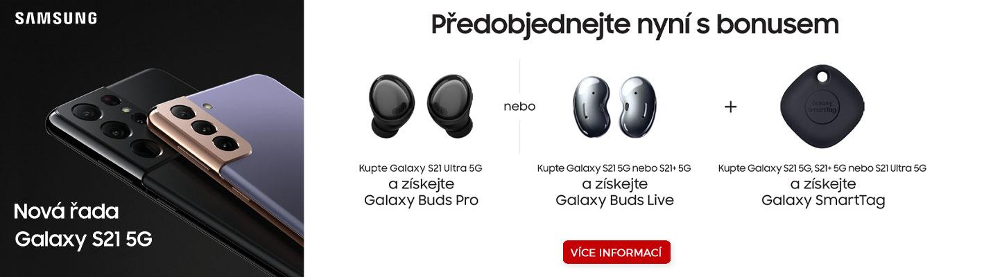 Předobjednávka Samsung Galaxy S21