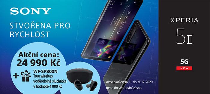 Akce Xperia 5 II + sluchátka