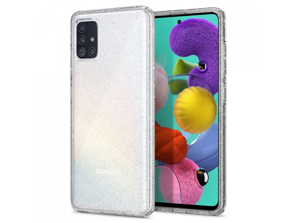 Spigen Liquid Crystal Glitter, clear - Galaxy A51