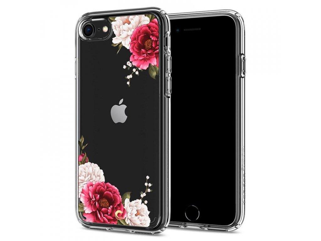 Spigen Ciel Cecile, red floral - iPhone 7/8/SE (2020)