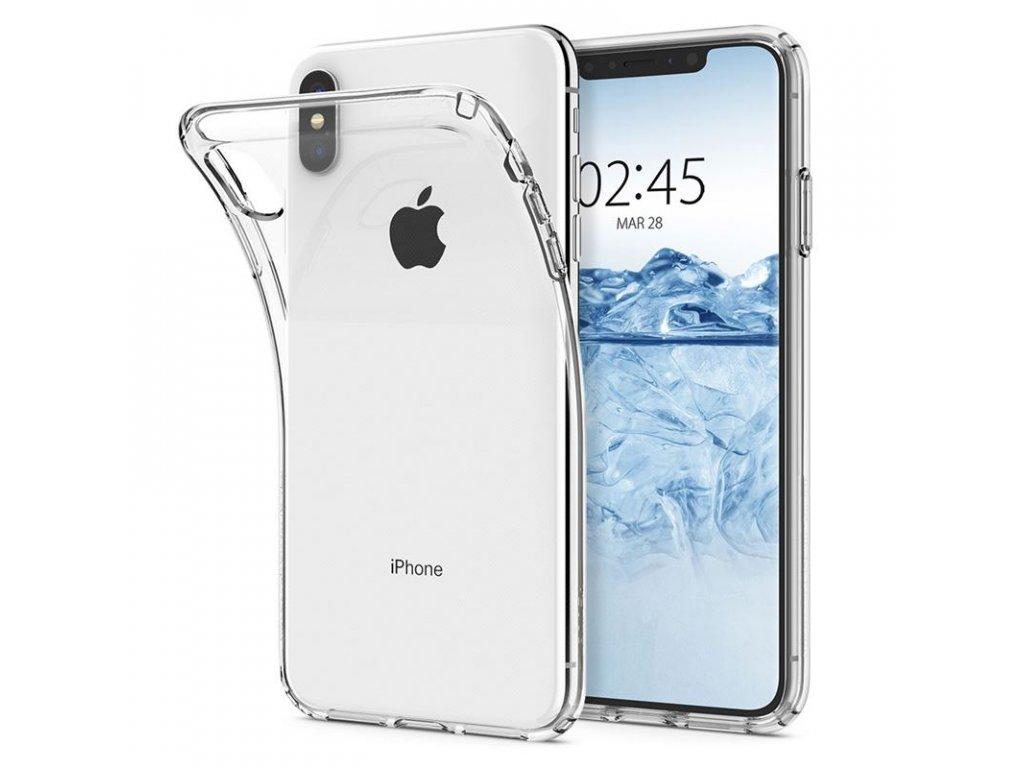 Spigen Liquid Crystal, clear - iPhone XS Max