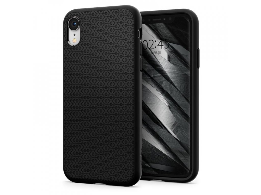 Spigen Liquid Air, black - iPhone XR