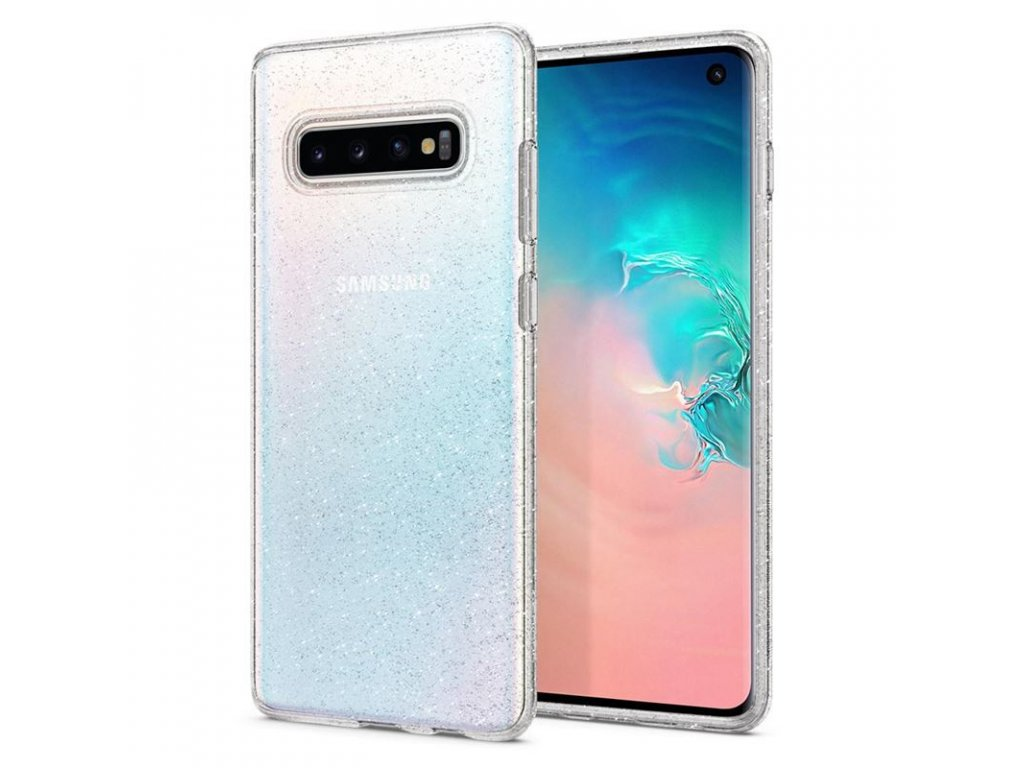 Spigen Liquid Crystal Glitter, clear - Galaxy S10