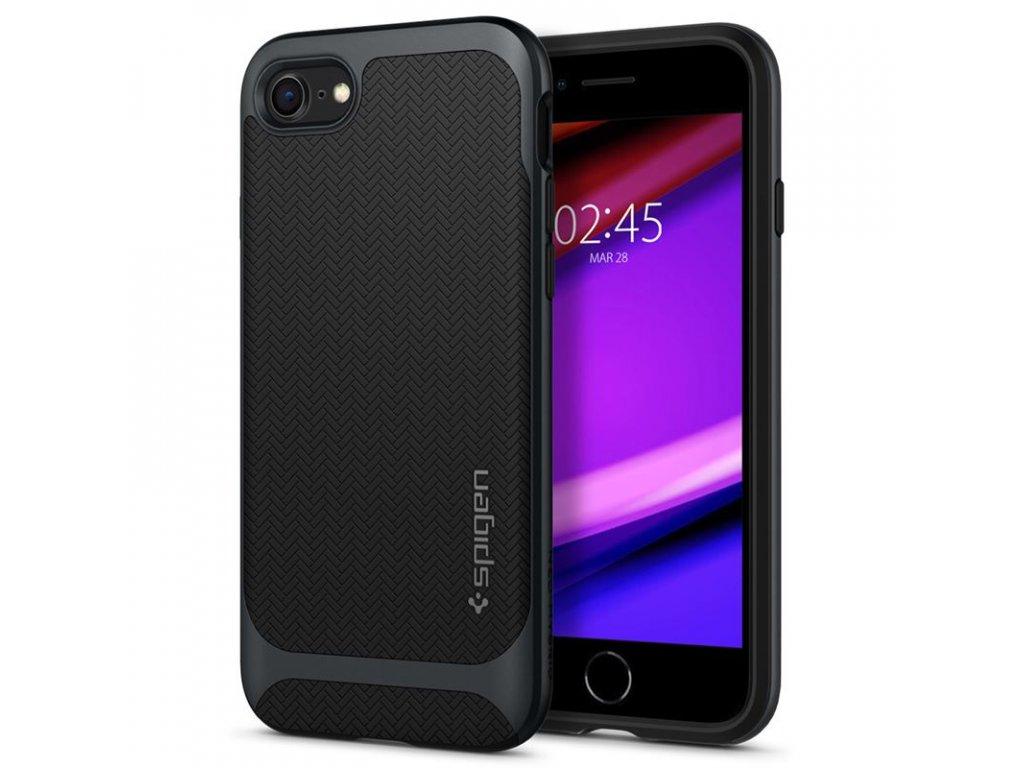 Spigen Neo Hybrid, metal slate - iPhone 7/8/SE (2020)