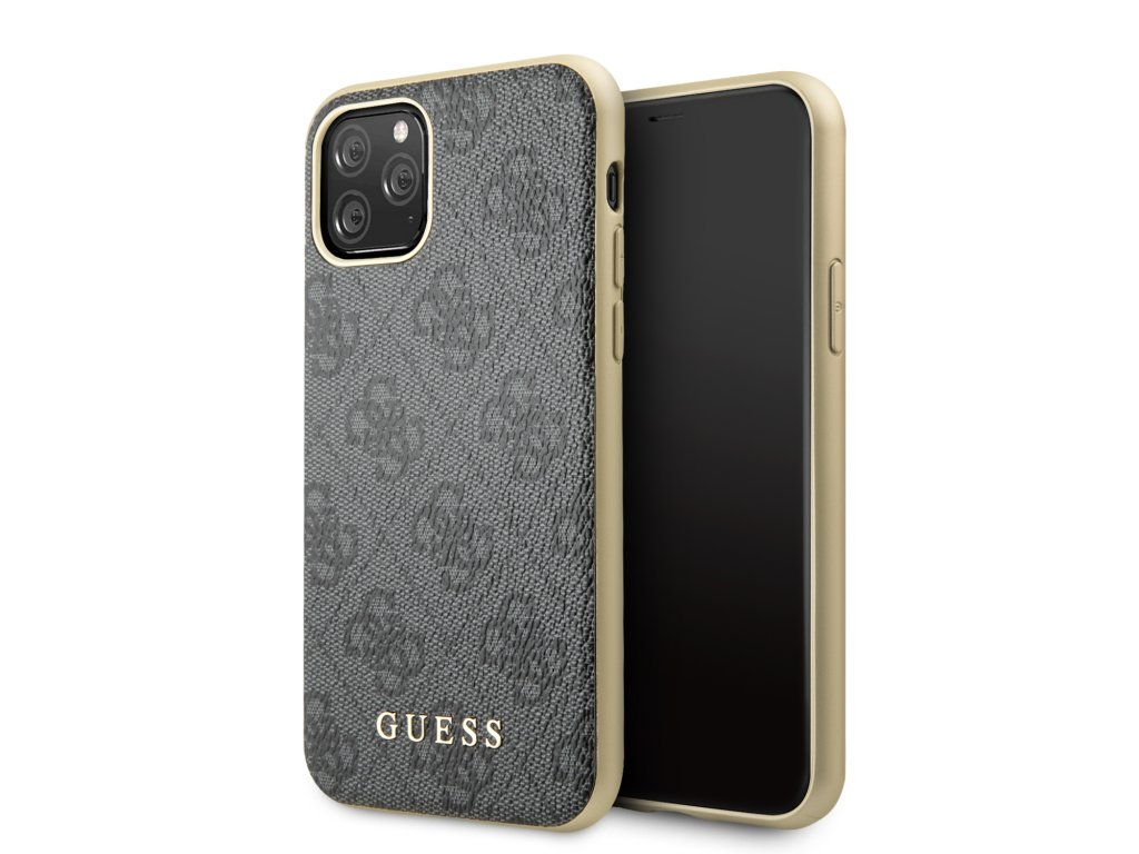 Guess 4G Zadní Kryt pro iPhone 11 Pro Grey