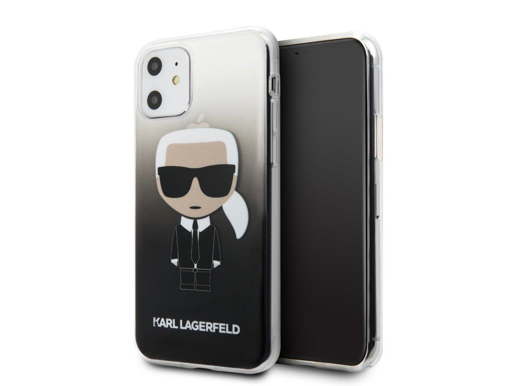 Karl Lagerfeld Ikonik Kryt pro iPhone 11 Black